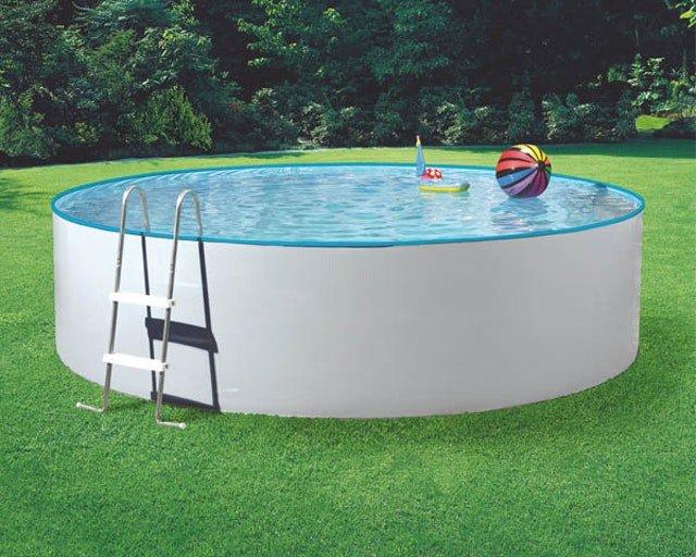 MyPool Poolset Splash (Ø 3,60m x 1,10m) mit Sandfilteranlage für 639€ inkl. Versand (statt 858€)