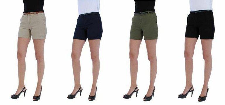 Vero Moda VMFLASH MR Chino Damen Chino Shorts