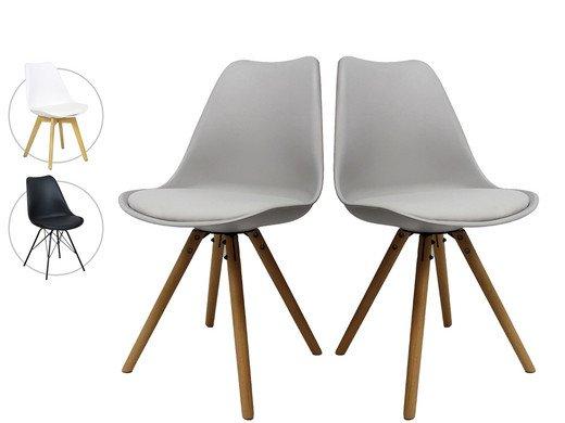Verschiedene Designerstühle im Duo-Pack (3 Modelle) für je 78,90€ inkl. Versand