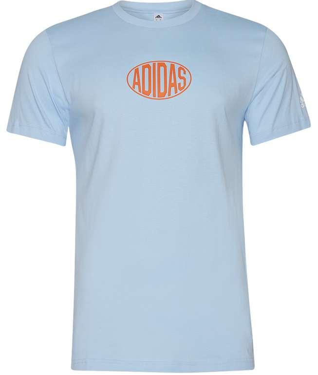 adidas Q3 Shop Herren T-Shirt in Hellblau für 15,94€inkl. Versand (statt 20€)