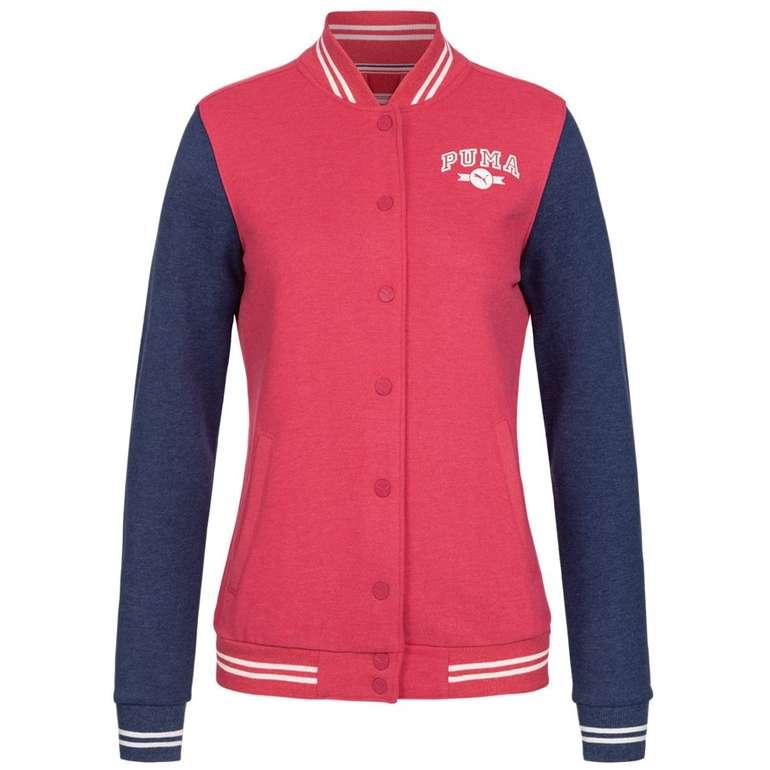 Puma Damen College Athletic Sweat Jacke für 13,85€ (statt 27€)
