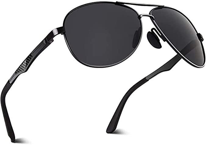 Aoron polarisierte Outdoor Sonnenbrille mit UV-Schutz für 6€ inkl. Prime Versand (statt 15€)
