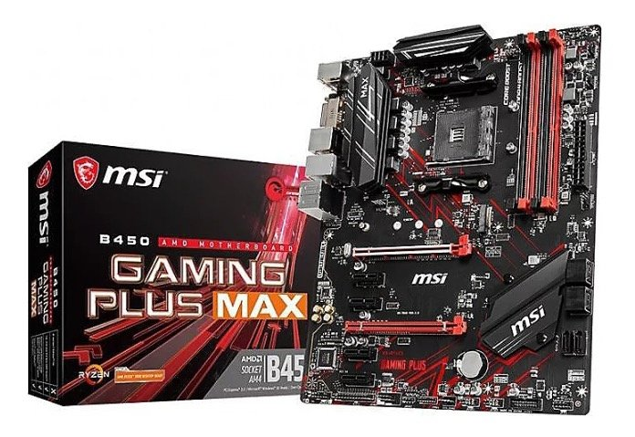 MSI B450 Gaming Plus Max (7B86-016R) für 53,94€ inkl. Versand (statt 72€)