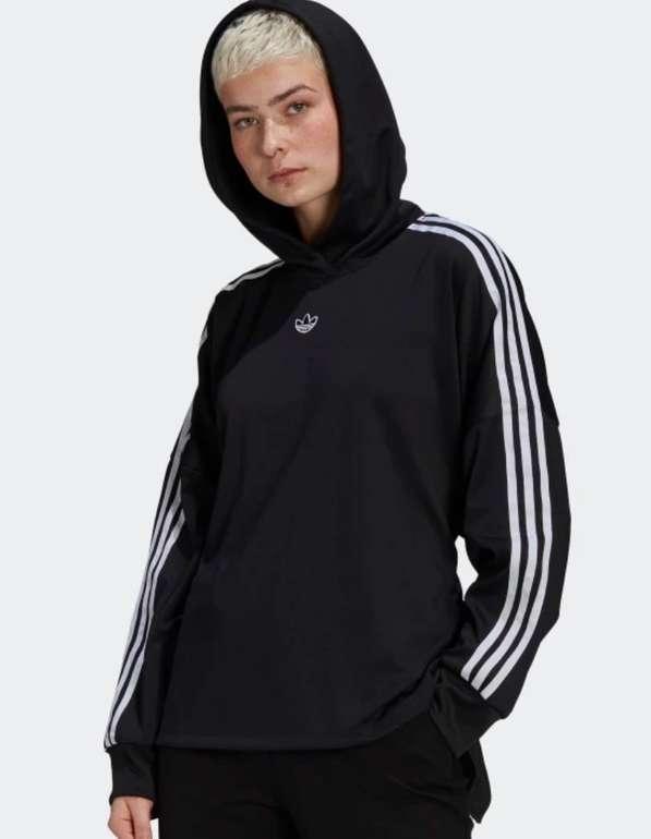 Adidas Originals Damen Sweatshirt in schwarz für 25,90€ inkl. Versand (statt 46€)