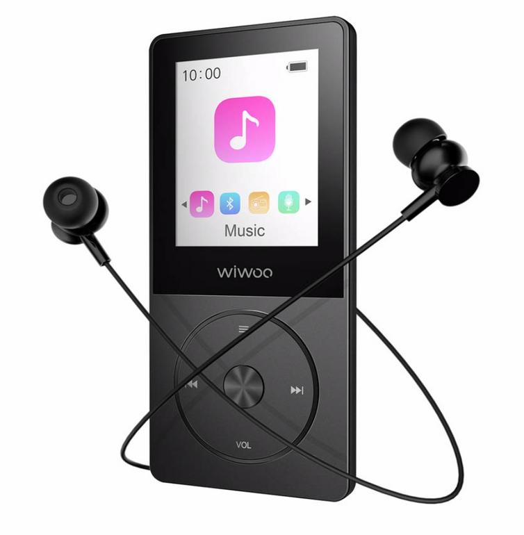 YMD Music MP3 Player mit FM Radio und 16GB Speicher ab 14,45€ mit Prime