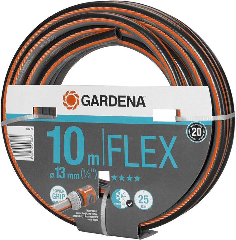 Gardena Comfort Flex 10 Meter Schlauch 13 mm (1/2 Zoll) für 9,99€ inkl. Primeversand (statt 14€)