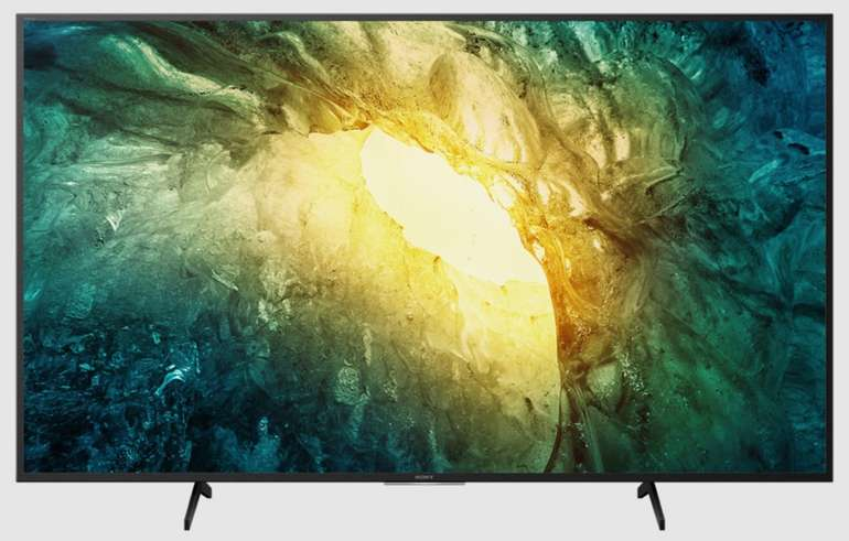 Sony Bravia KD-43X7055 - 43 Zoll LED 4K Ultra HD (UHD) Smart-TV (HDR, Modell 2020) für 399€ (statt 499€)