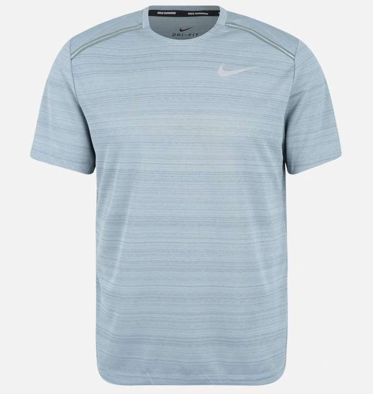 """Nike Herren Sport-Shirt """"M NK Dry Miler"""" in blau für 13,46€ (Größe: S und M)"""