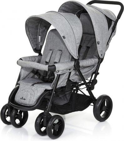 ABC Design Geschwisterwagen Tandem Circle in woven-grey für 179,99€ inkl. VSK