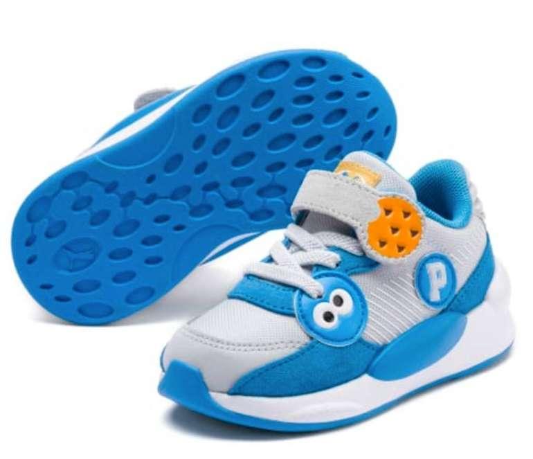 Back to school Sale bei Puma mit 20% Extra Rabatt, z.B. Sesamstraße 50 RS 9.8 Babies Sneaker für 44€