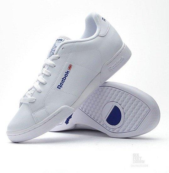 """Reebok Herren Sneaker """"Npc II 1354""""  in weiß für 44,80€ inkl. Versand (statt 53€)"""