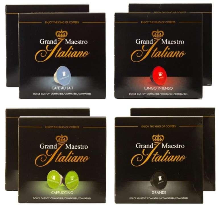 Probierpaket Grand Maestro Italiano - Dolce Gusto (128 Kapseln) für 26,16€ inkl. Versand (statt 35€)