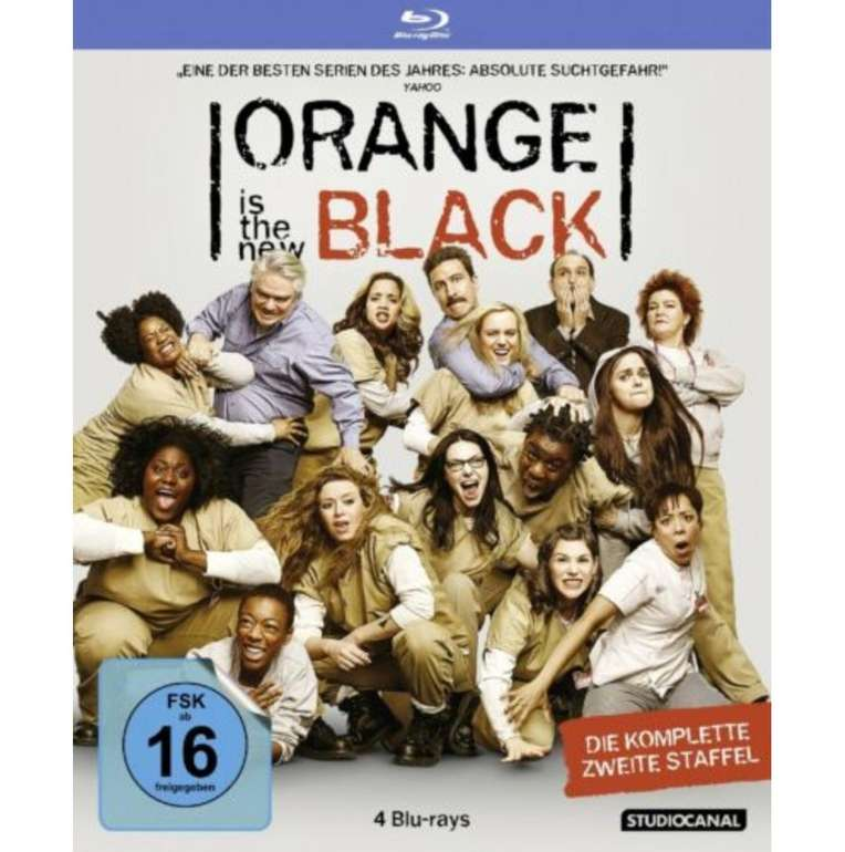 Orange is the New Black - Staffel 2 (Blu-ray) für 4,03€ inkl. Versand (statt 14€)