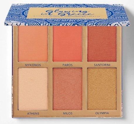 """BH-Cosmetics -50% auf verschiedene Travel Paletten z.B. """"Glowing in Greece"""" für 8€ zzgl. Versand (statt 16€)"""
