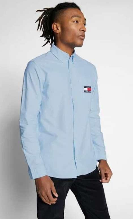 Tommy Jeans Hemd in blau für 29,95€inkl. Verasand (statt 44€)