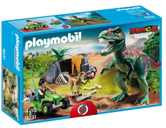Playmobil T-Rex Angriff (9231) für nur 23,94€ inkl. VSK