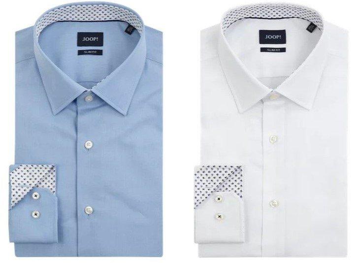 """Joop! Slim Fit Business-Hemd """"Pierre"""" aus Fil à Fil für 41,99€ (statt 77€)"""