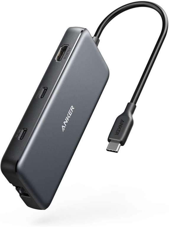 Anker PowerExpand 8-in-1 USB-C Hub (4K HDMI, PD, USB, Ethernet, Kartenleser) für 50,39€ inkl. Versand (statt 60€)