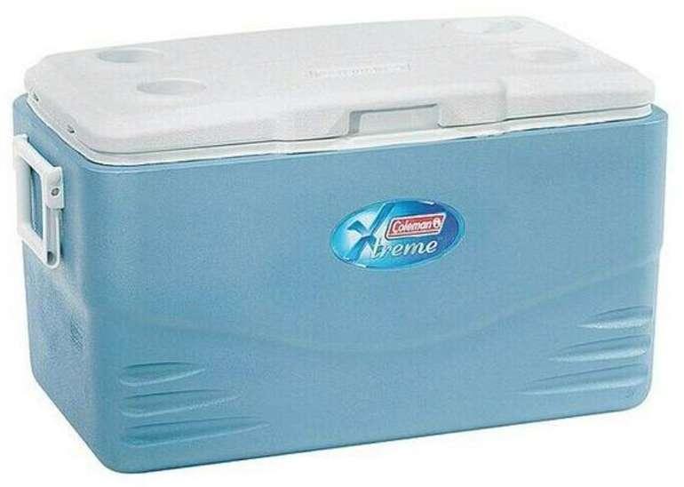 Coleman Kühlbox 52QT Xtreme (Volumen: 49 Liter, Kühlleistung: Bis 120 h (mit Kühlakkus)) für 59€ (statt 75€)