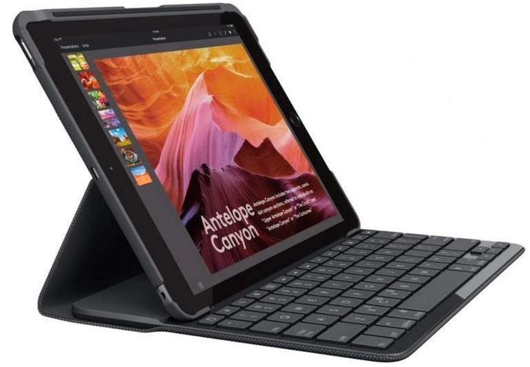 Logitech Slim Folio (kabelloser Tastatur und Bluetooth) für 59€ inkl. Versand