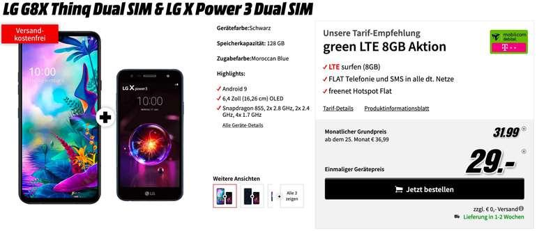 LG G8X Thinq & LG X Power 3
