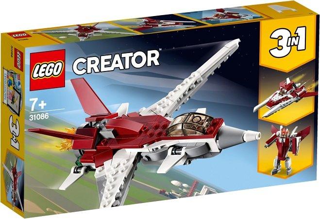 LEGO Creator - 3 in 1 Flugzeug der Zukunft (31086) für 8,29€ inkl. VSK