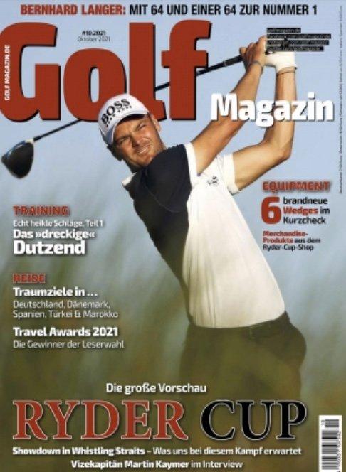 GOLFMagazin im Jahresabo (12 Ausgaben) für 9,99€ (statt 96€)