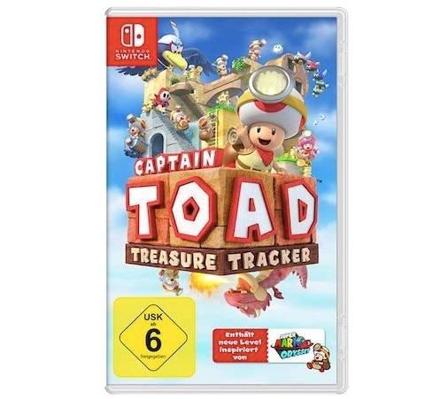 Captain Toad: Treasure Tracker (Nintendo Switch) für 27,53€ inkl. Versand (statt 33€)