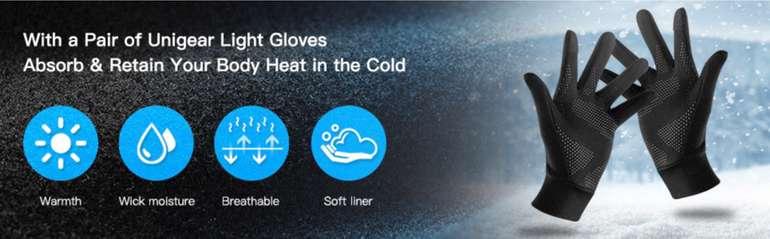 Unigear Touchscreen Handschuhe mit Anti-Rutsch