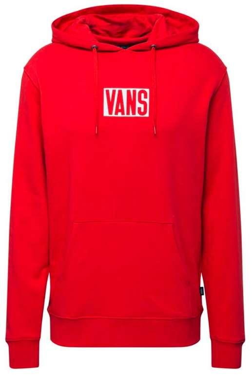 Vans Hoodie New Stax in rot für 22,76€ inkl. Versand (statt 48€)