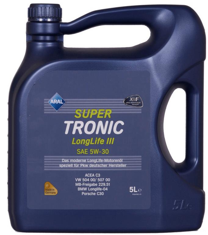 5 Liter Aral Super Tronic Longlife 3 5W-30 für 20,79€ inkl. VSK (statt 30€)