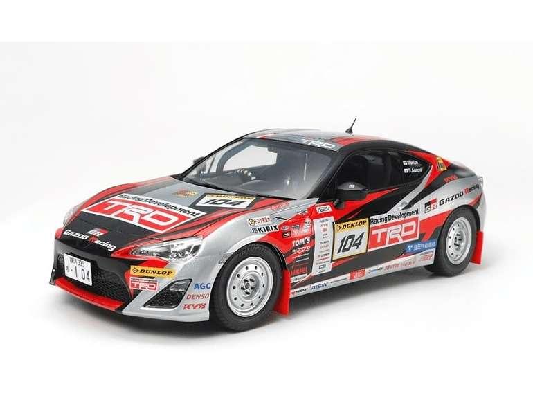 Tamiya 1:24 GAZOO Racing TRD 86 2013 Rallye Bausatz für 27,41€ inkl. Versand (statt 38€)