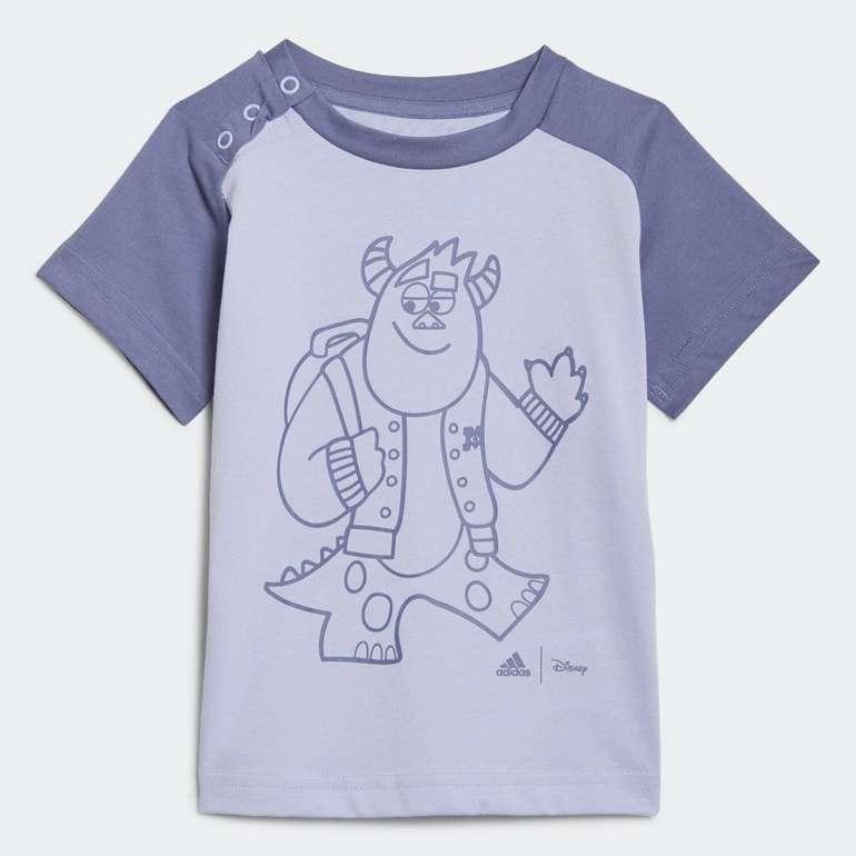 Adidas x Disney Pixar Monsters, Inc. Kids Unisex Shirt in 2 Farben für je 10,50€ (statt 15€) - Creators Club
