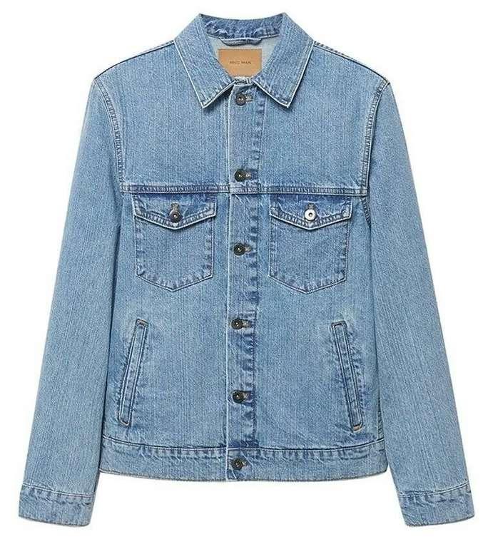 Mango Man Jacke in Kobaltblau für 44,91€ inkl. Versand (statt 50€)