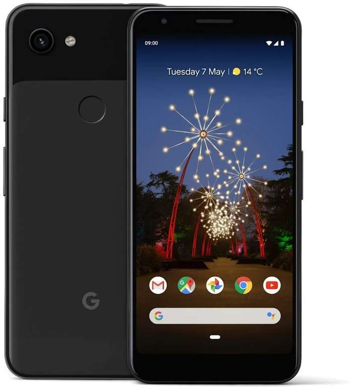 Google Pixel 3a (29,41€) + Blau Allnet L (All-Net, SMS Flat, 5GB LTE Datenvolumen) für 11,99€ mtl.