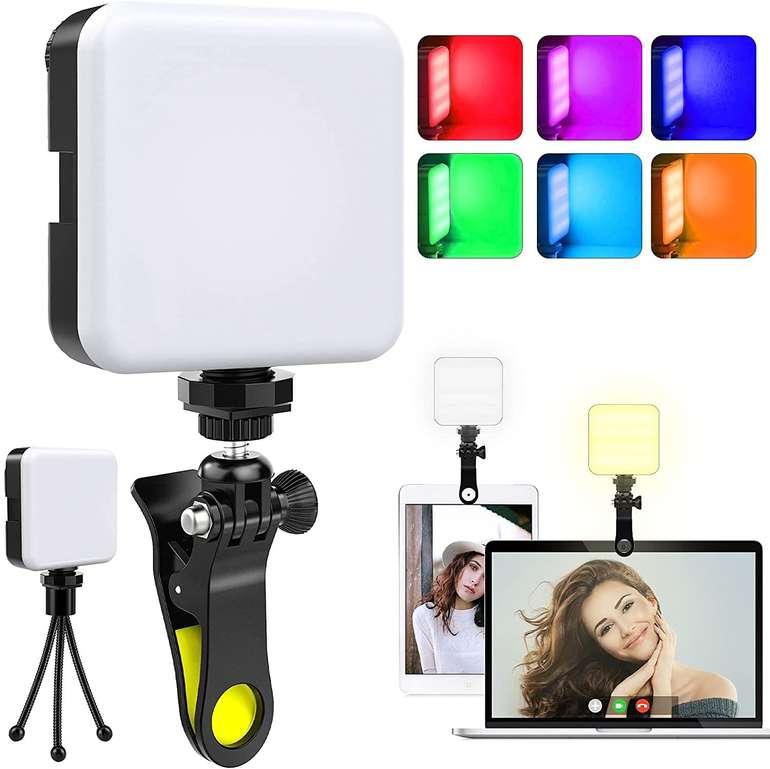 Omeril RGB LED Videoleuchte (2500-9000K, dimmbar) für 20,39€ inkl. Versand (statt 34€)