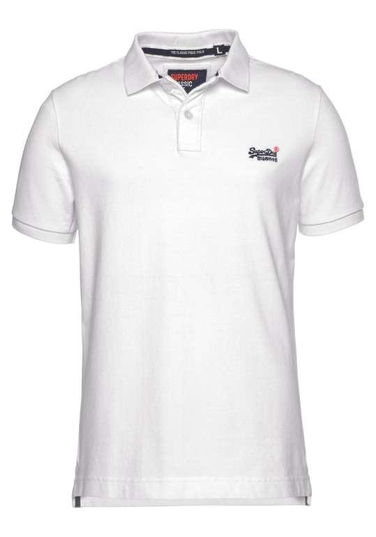 Superdry Herren Shirt 'Classic Pique Polo' für 20,47€ inkl. Versand (statt 35€)