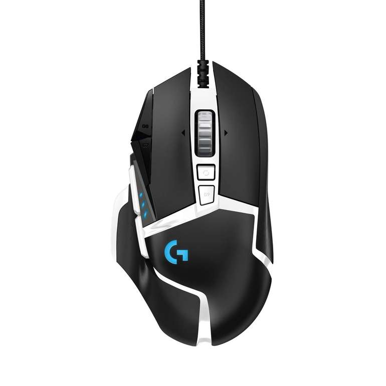 Logitech Gaming-Maus G502 SE Hero (16000 DPI Sensor, RGB-Beleuchtung, Gewichtstuning) für 39€