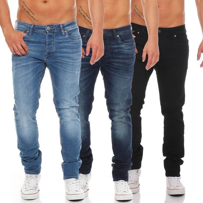 Jack & Jones Herren Jeans Tim (Slim Fit) für 34,90€ inkl. Versand