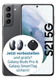 Top! Samsung Galaxy S21 mit 5G und 128 GB (149€) + Vodafone Smart L+ mit 15GB LTE für 34,99€ mtl.