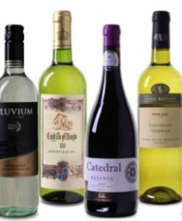 Weinvorteil: 30 Weine ab 3,33€ pro Flasche (6 Flaschen Mindestabnahme)