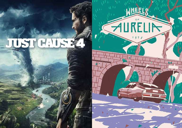 Epic Games Store: Just Cause 4 & Wheels of Aurelia kostenlos herunterladen