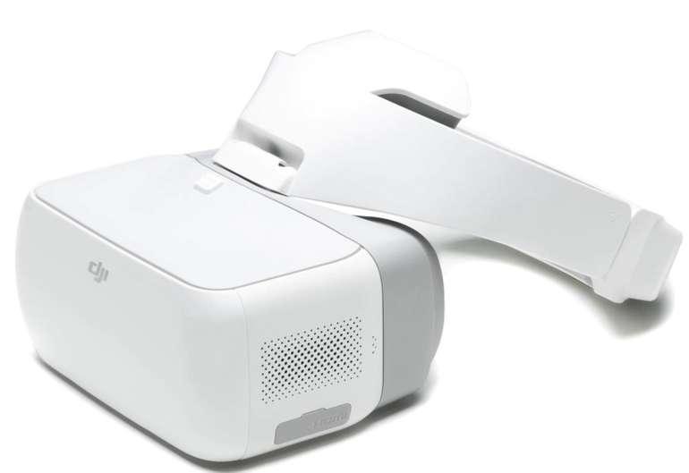 DJI Goggles - VR Brille inkl. 2 Bildschrime (1920 x 1080 MP, Drohnenbewegung per Kopfsteuerung) für 276,75€