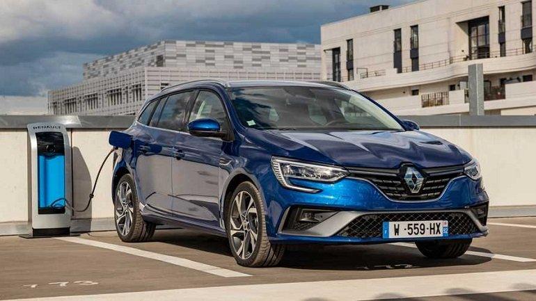 Renault Megane Grandtour ZEN E-TECH Plug-in Hybrid Leasing 2