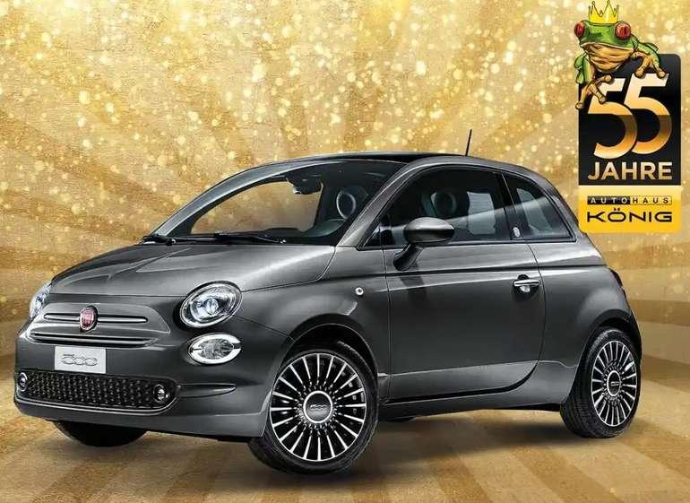 Leasing Angebot vom Autohaus König - z.B. Fiat 500C 1.0 GSE Cabrio im Privat Leasing für 55€ mtl. (LF: 0,28)