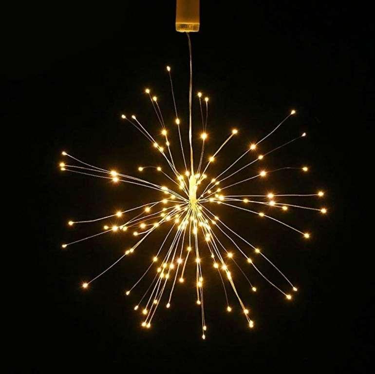 Ltteny Feuerwerk Hänge-Lampe mit 150 LED's für 6,99€ inkl. Prime Versand (statt 14€)
