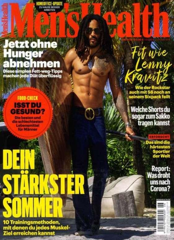 Men's Health im Jahresabo für 58€ + 40€ BestChoice Einkaufs-Gutschein
