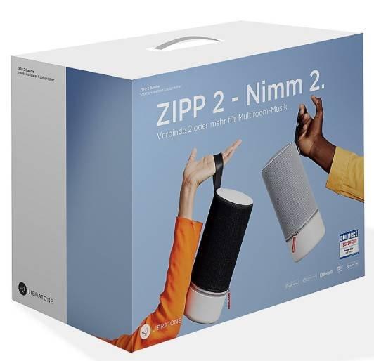 Multiroom-Starterset: 2x Libratone Zipp 2 Lautsprecher für 303,99€ (statt 346€)