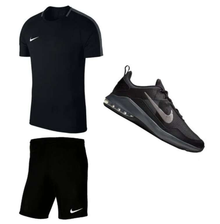 Nike Trainingsset 3-teilig (Shirt, Short & Schuhe) für 72,95€ inkl. Versand (statt 96€)