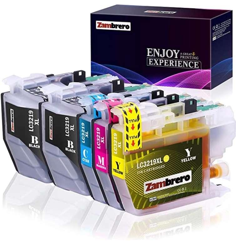 Zambrero LC3219XL Patronen Ersatz für Brother LC3219 LC3217 nur 6,15€ inkl. Prime (statt 18€)